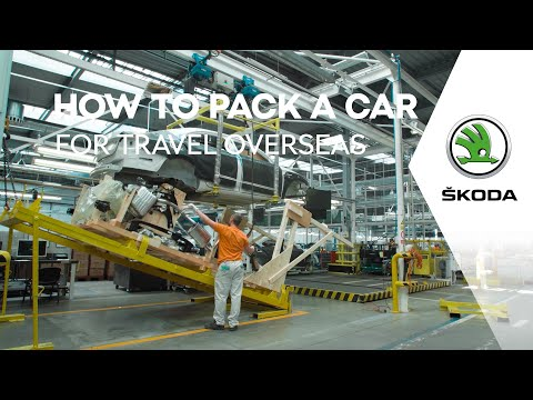 Four in One: How to Pack a Car for Overseas Travel