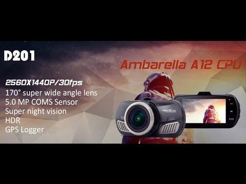 Unboxing Dome D201 Ambarella A12 1440p GPS Dashcam