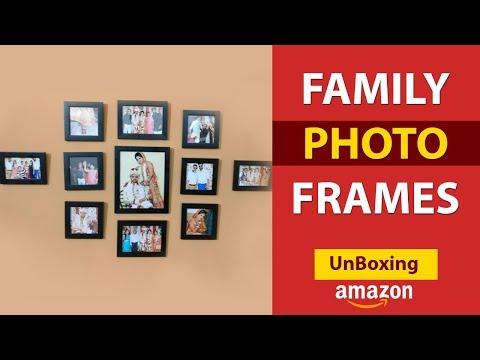 Family Photo Frame - Painting Mantra Memory Wall Photo Frame Set