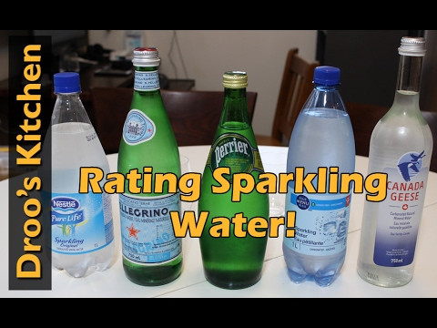 Trying Carbonated Mineral Water - San Pellegrino, Perrier an