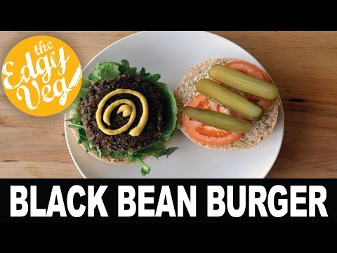 Veggie Burger Recipe VEGAN | The Edgy Veg