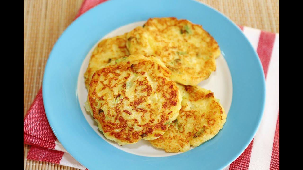 แพนเค้กมันฝรั่งสูตรนี้ทำง่ายเสร็จเร็วและอร่อย / Potato Pancakes Recipe -  YouTube