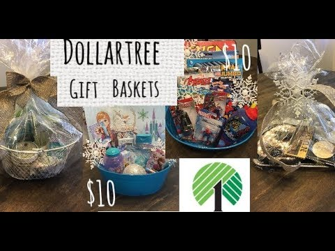 4 Dollartree Gift Basket Ideas—$10 Budget