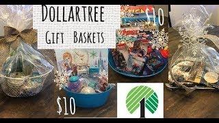 4 Dollartree Gift Basket Ideas—$10 Budget