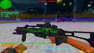 Counter Strike 1.6 - Zombie Escape - JurassickPark3 Escape   World War'Z [RETEXTURED]
