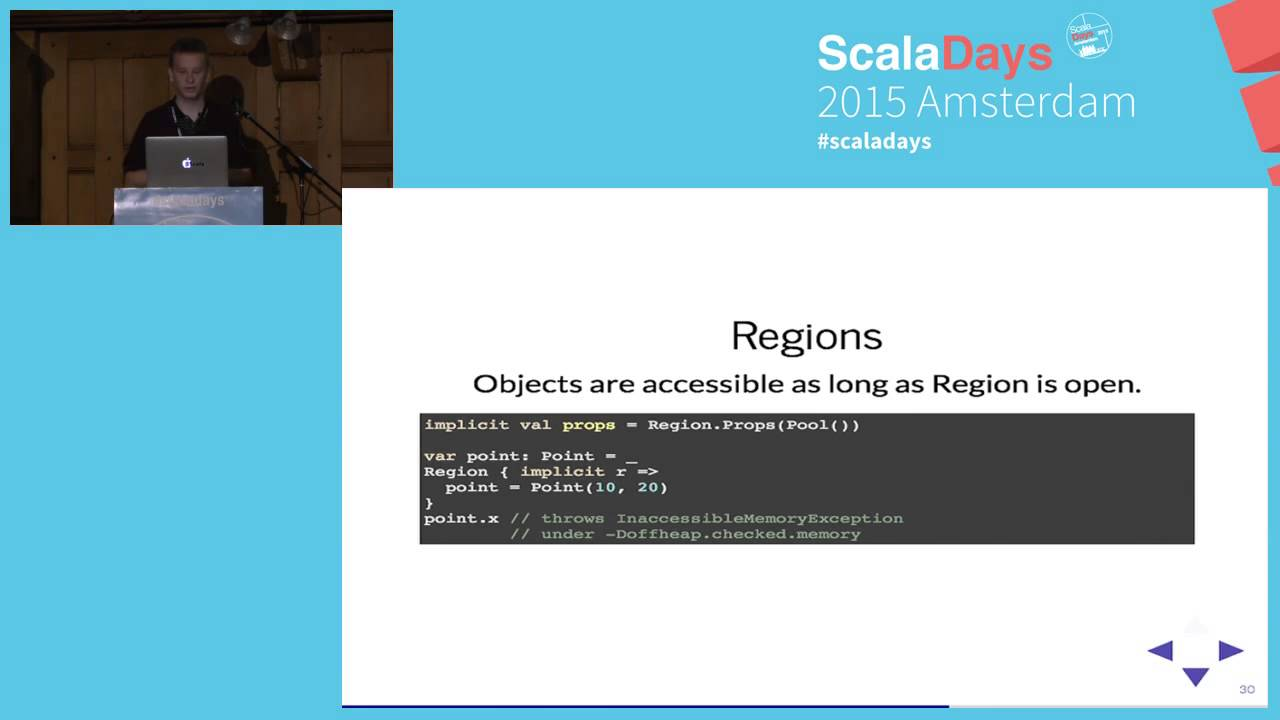 Type-safe off-heap memory for Scala