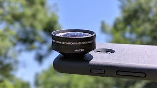 4K HD Wide + Macro Lens For Your Phone! - Rhinoshield Review