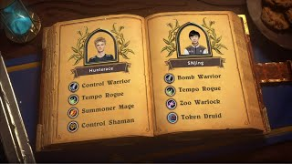 Hunterace vs SNJing – Semifinals – 2019 HCT World Championship