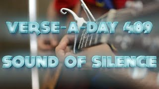 Cover of 'Sound Of Silence'. Part of the instagram series 'Verse-A-...