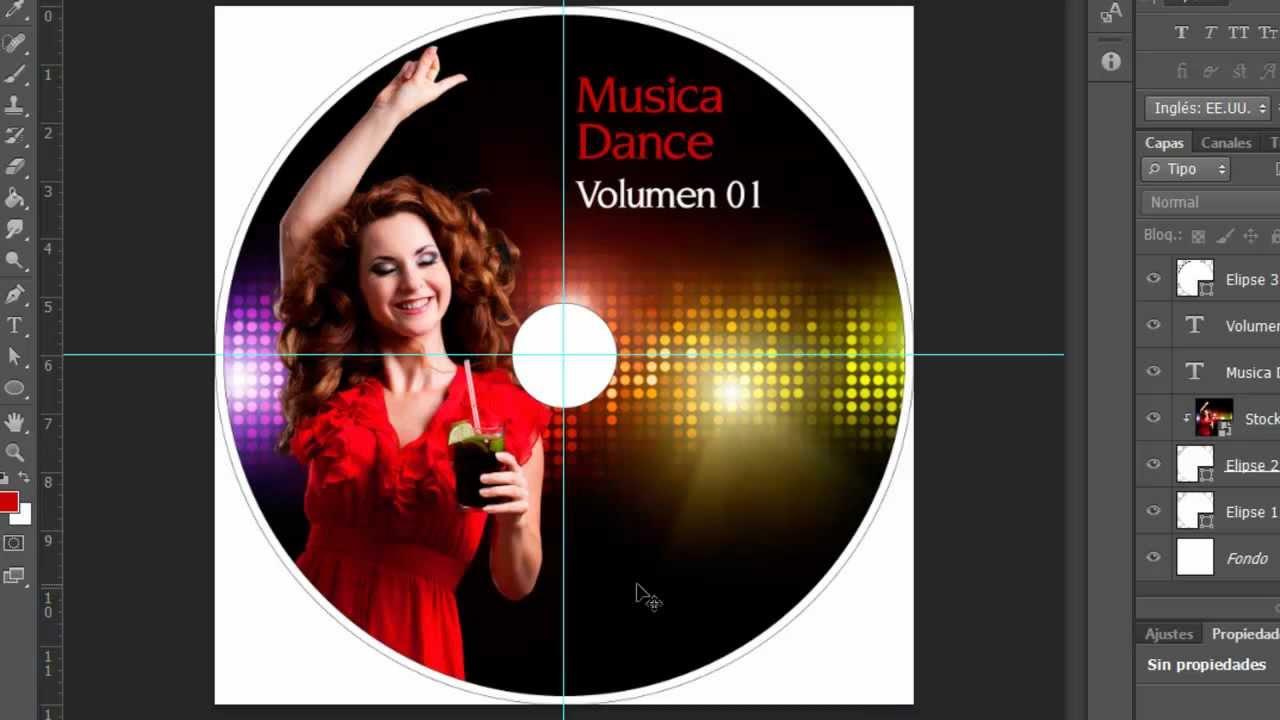 Photoshop Cs6 Diseño de CD o DVD by Yanko0 - YouTube