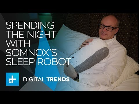 Somnox Sleep Robot – Hands On at CES 2018