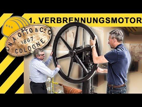 So funktioniert der 1. deutsche Verbrennungsmotor von 1867 | Besuch im DEUTZ Museum!