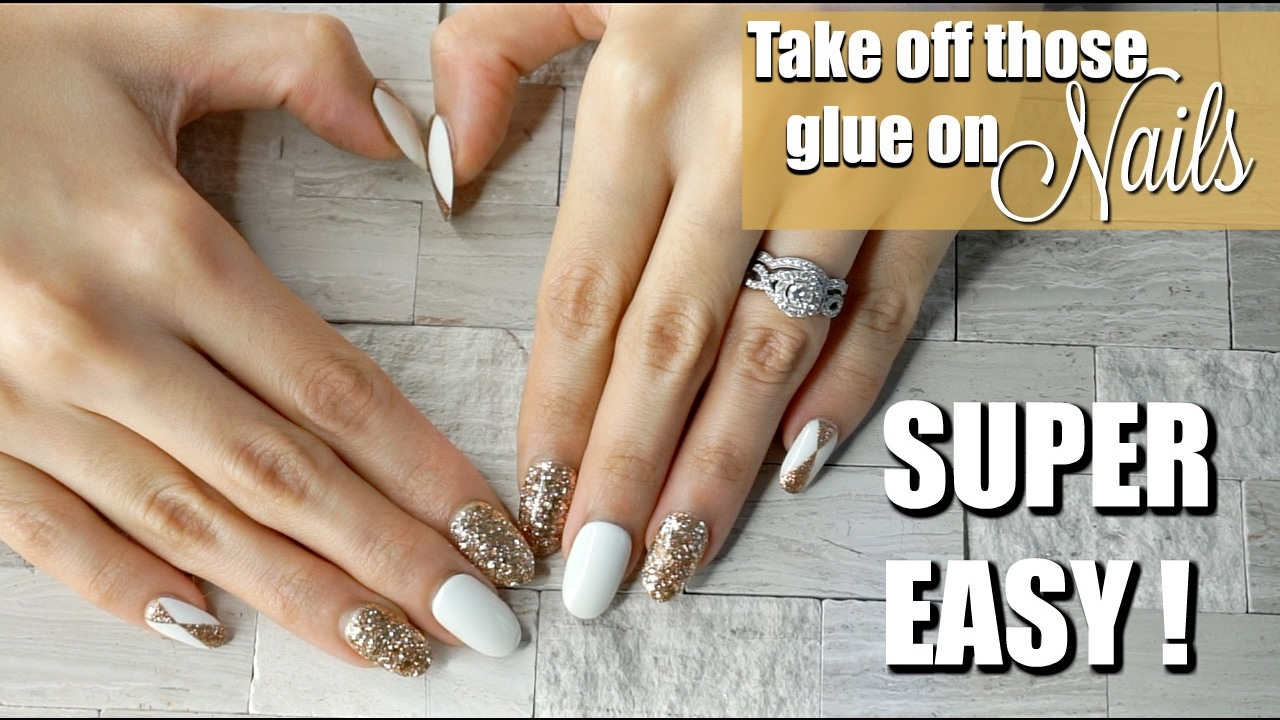 Diy quick easy way to take off glue on nails without damaging diy quick easy way to take off glue on nails without damaging your natural nails solutioingenieria Image collections