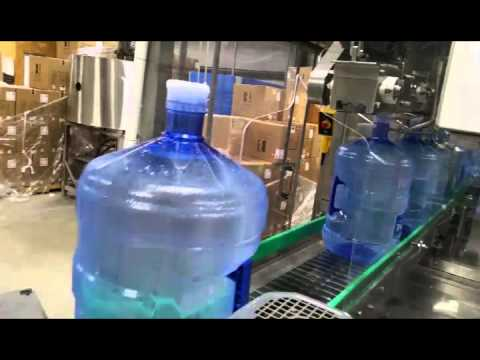 5 gallon bottled water production