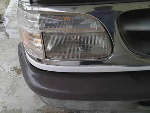 Totally awesome headlight cleaning removing oxidation