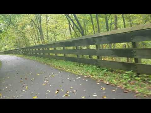 The Little Miami River Scenic Trail Past Fort Ancient