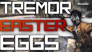 "Cod Ghosts Tremor Easter Eggs! ""tranzit Zombies Easter Eggs"" Texas Cowboys!"