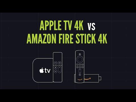 Apple TV 4K Vs Amazon Fire Stick TV 4K