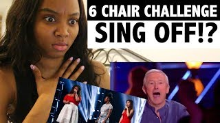 SING OFF - 6 CHAIR CHALLENGE - X-FACTOR UK - REACTION!
