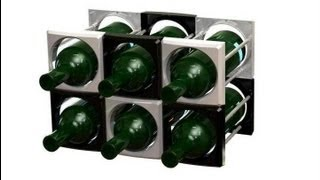 Multi wine rack Casier Vin multi by eurodesignmold.com Designer: Kelvin Law