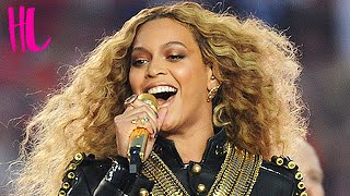 Beyonce Nearly Falls On Stage Super Bowl 50 Halftime Show
