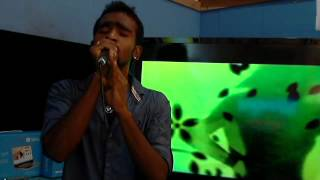 Prashant Lamani...delights with a song from Border.....for GOA INDIA(I) KARAOKE GROUP