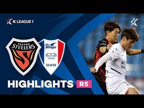 Pohang Suwon Bluewings Goals And Highlights