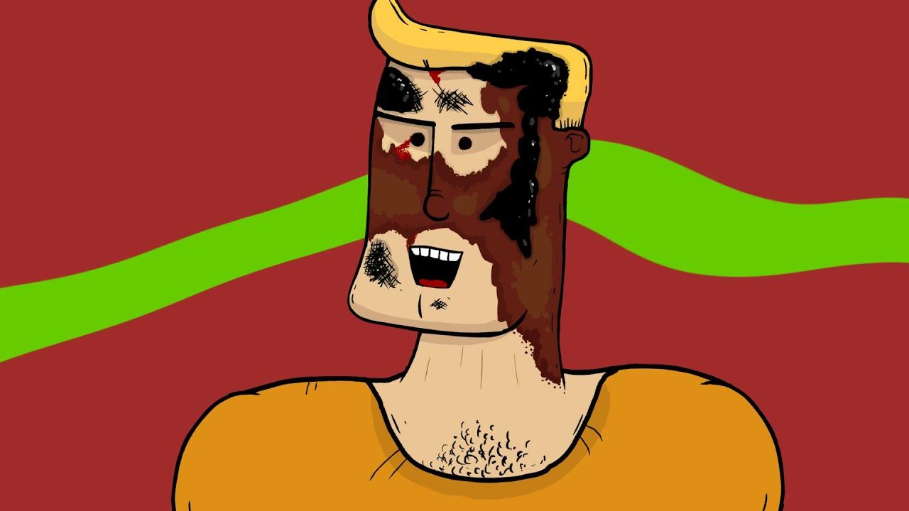 Burnt Face Man 10 TRAILER