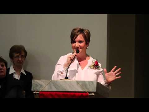Trocaire College Nursing Pinning Ceremony 2- December 2014