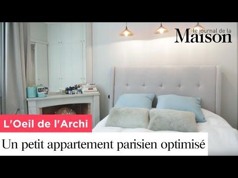 Un petit appartement parisien optimisé