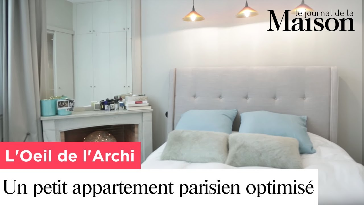 un petit appartement parisien optimis youtube. Black Bedroom Furniture Sets. Home Design Ideas