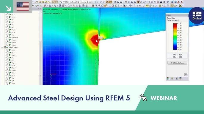Webinar Advanced Steel Design Using Rfem 5 Youtube
