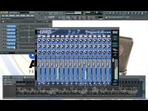 Instrumentos Virtuales   Edirol Hyper Canvas   Clases Particulares de Producción Musical