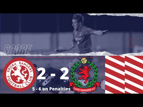 Brora Rangers Cove Rangers Goals And Highlights