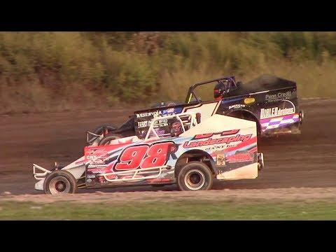 Topless Sportsman Modified Heat Four | Genesee Speedway | 9-17-17