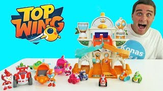 Top Wing Mission Ready Track Playset ! || Toy Review || Konas2002