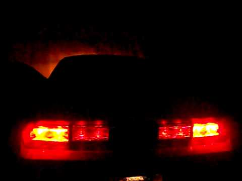 dodge challenger tinted tail lights at night youtube. Black Bedroom Furniture Sets. Home Design Ideas