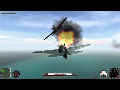 Attack on Pearl Harbor (Gameplay PC)  with Joystick #1