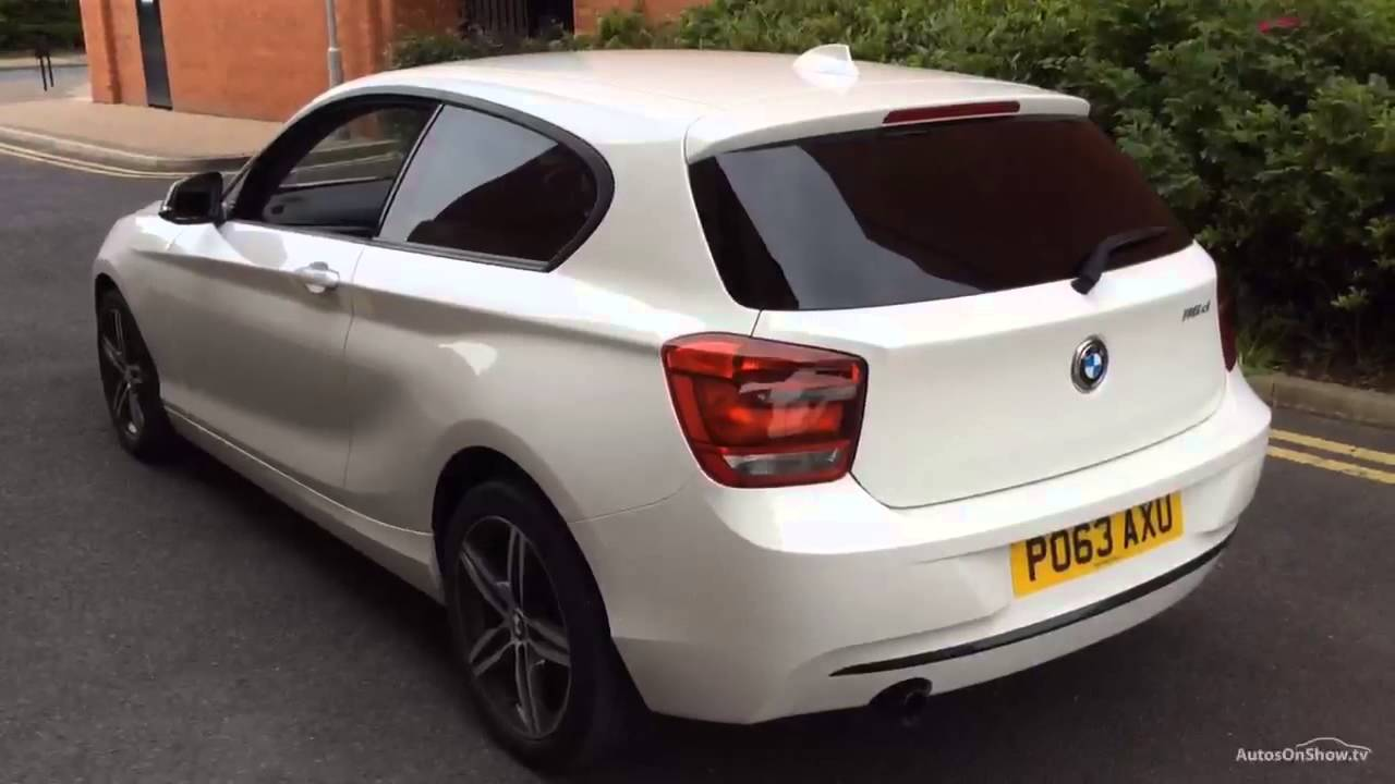 bmw 1 series 116d sport white 2013 youtube. Black Bedroom Furniture Sets. Home Design Ideas
