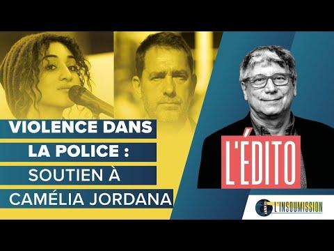 Violences policières et racisme : soutien à Camélia Jordana.