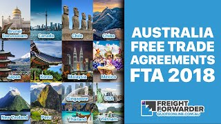 Australia Free Trade Agreements (FTA) 2018