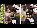 Peña Nieto se ENOJA con ciudadano y LO GOLPEA