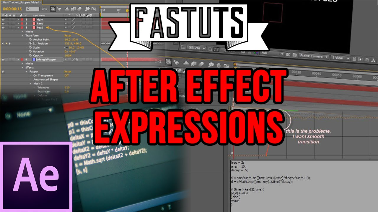 How To Add Expressions in Adobe After Effects CC