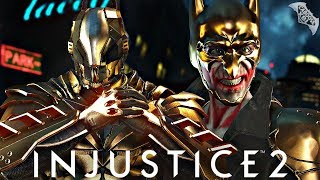 Injustice 2 Online - GOLD JOKER VS GOLD BATMAN!