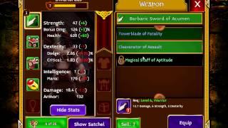 Arcane Legends - gameplay 1