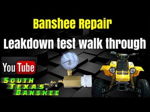 Banshee leak down test walk through and leak find
