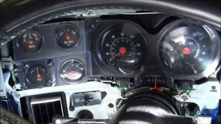 81 Chevy C10 Custom Gauge install(How to install Speedhut's new Legacy Gauges mixed with stock gauges using factory location., 2012-01-26T01:26:44.000Z)