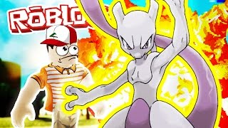 ¡¡¡Mewtwo!!! / Pokemon Fighters EX / Roblox Adventures