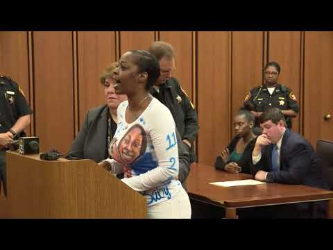 Mother of Euclid 9-year-old killed in hit-skip speaks at suspect's sentencing