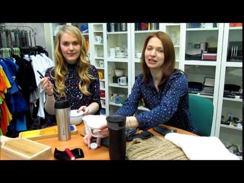 Cмотреть видео Корпоративные подарки и сувениры к 8 марта